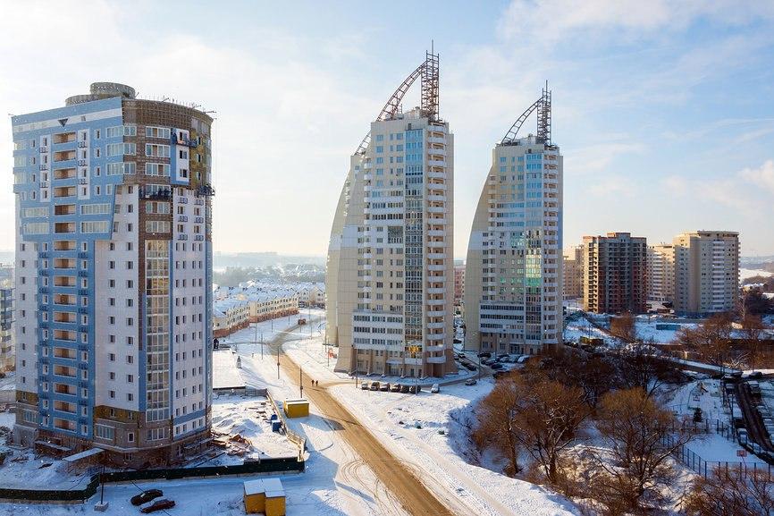Ввод  в эксплуатацию объектов строительства  v Odincovo
