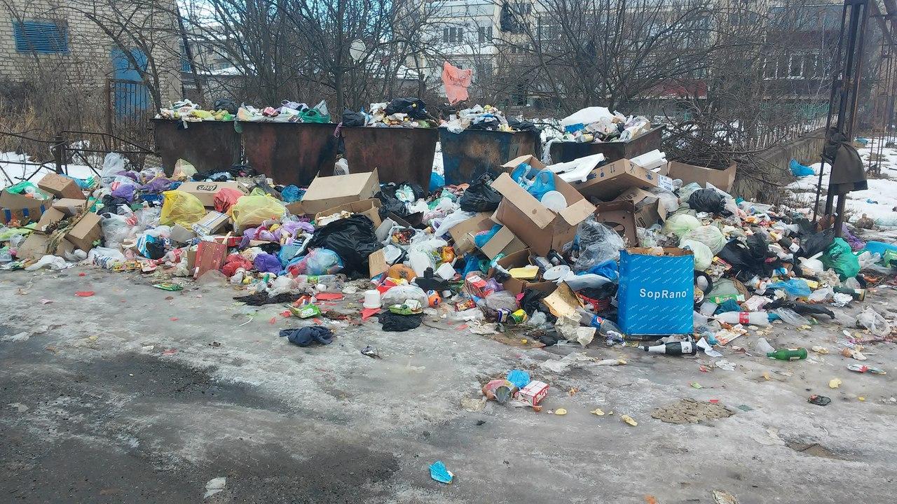 Зеленчукская утопает в мусоре