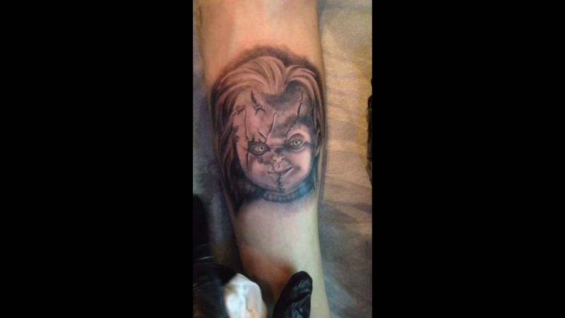 Kyrill Crime Tattoo Chucky