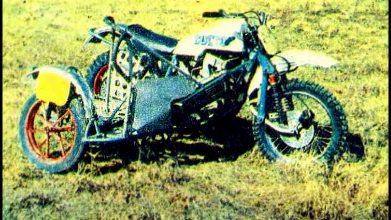 Мото-легенды СССР - Восток КР-1000 (кросс)