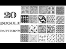 Easy 20 Zentangle Patterns | Doodle Patterns