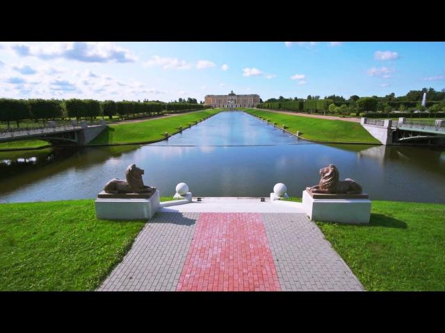 Стрельна Санкт Петербург Strelna St Petersburg Time lapse HD
