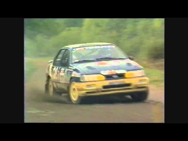Ford Sierra Cosworth: 1000 Lakes Rally 1990