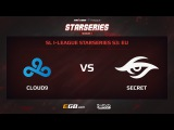 Cloud 9 vs Team Secret, Game 1, SL i-League StarSeries Season 3, EU