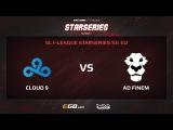 Cloud 9 vs AD Finem, Game 2, SL i-League StarSeries Season 3, EU