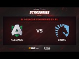 Alliance vs Team Liquid, Game 2, SL i-League StarSeries Season 3, EU
