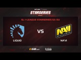 Team Liquid vs Natus Vincere, Game 1, SL i-League StarSeries Season 3, EU