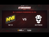 Natus Vincere vs AD Finem, Game 2, SL i-League StarSeries Season 3, EU