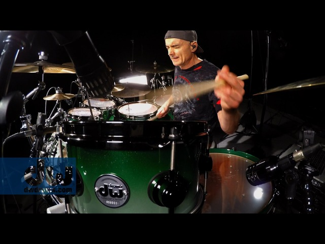 Virgil Donati plays DW Drums (100% GoPro)