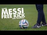 Learn Messi Free kick!