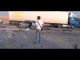 Авария в Казахстане возле села казыгурт
