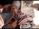Tibetan buddha statue fire gilding