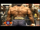 Flex Wheeler & Chris Cormier - Back Workout For 1999 Mr.Olympia