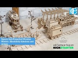Ugears Self-Propelled Wooden Models. Absolutely fabulous and unique