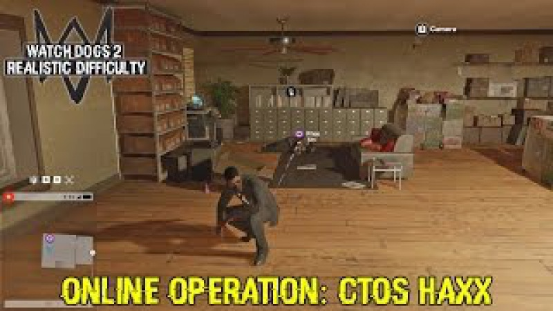 Watch Dogs 2 Gameplay Walkthrough - CTOS HAXX - Online Operation