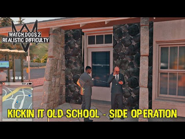 Watch Dogs 2 Gameplay Walkthrough - Kickin It Old School - Side Mission
