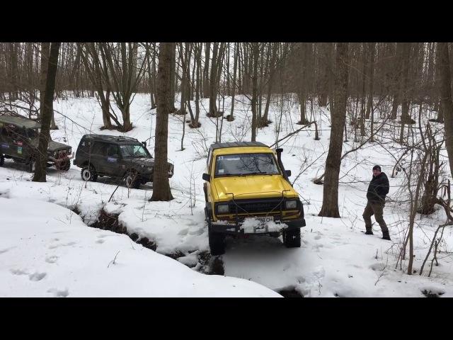 Offroad УАЗ 469, Discovery, Patrol, Feroza.