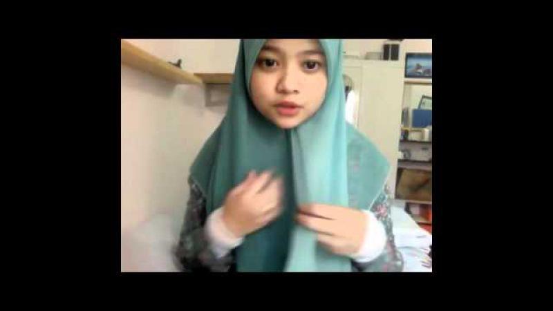 1 Hijab Tutorial ; Tudung Bawal Time!