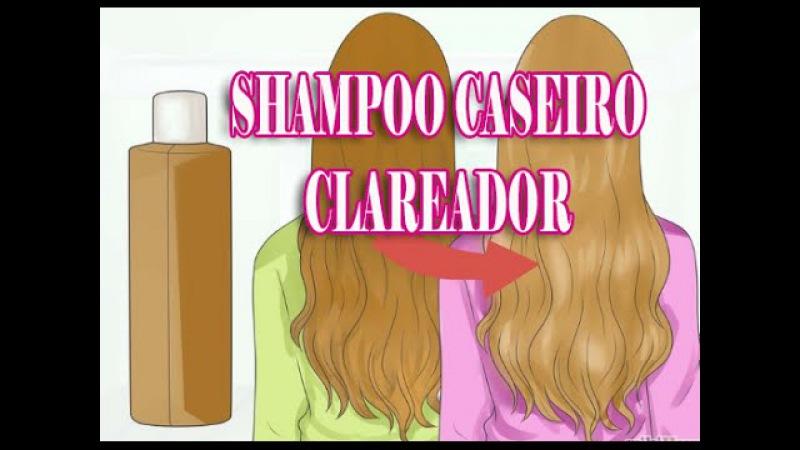 Clareamento natural como clarear o cabelo com um shampoo caseiro Por Nina Della Rosa