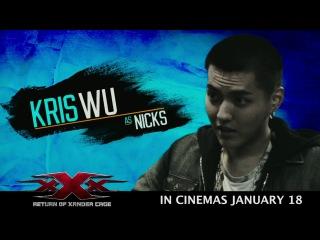 XXX: Return of Xander Cage - Trailer (Feat. Kris Wu)