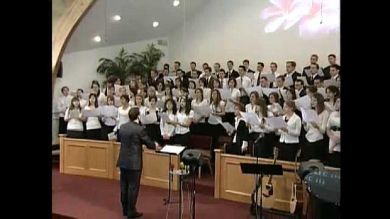 Пришло Спасение с Небес - Молодёжный хор (Christian Song)