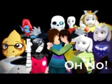 mmd,UNDERTALE Oh No! Motion DL