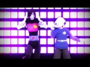 [MMD] Undertale Don't Stop! Mettaton and Napstablook (Thank You for Over 900 Subs )