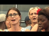 Yael Naim - Coward (Live vocal Flashmob  at  Forum des Halles, Paris)
