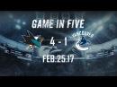 Canucks vs. Sharks Game in Five (Feb. 25, 2017)