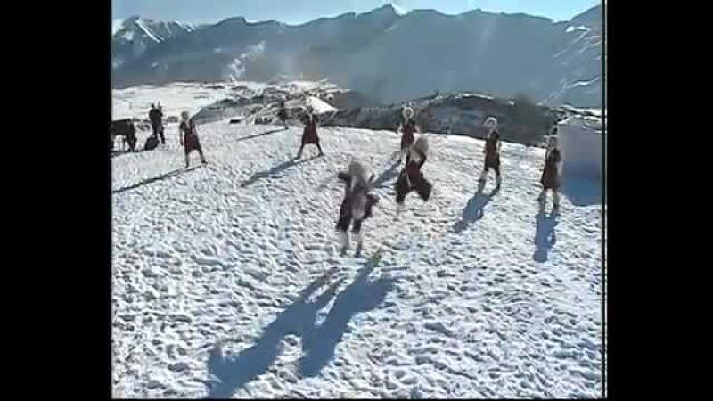 Красивый Грузинский балет Сухишвили