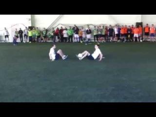 KemerovoFF   Выступление в г.Новокузнецк на благотворительном турнире по футболу