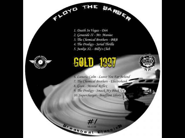 Floyd the Barber - Big Beat Breakbeat mix (vol 1)