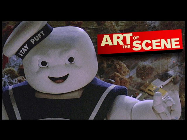 Ghostbusters Stay Puft Marshmallow Man - Art of the Scene