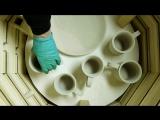Steps In Making Pottery / Шаги по изготовлению керамики