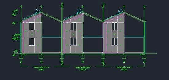 Рабочие чертежи жилых проектов Аравена