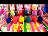 Свинка Пеппа Peppa Pig Отырываем Play Doh яйца Киндер сюрприз Kinder Surprise Мультики про Пеппу