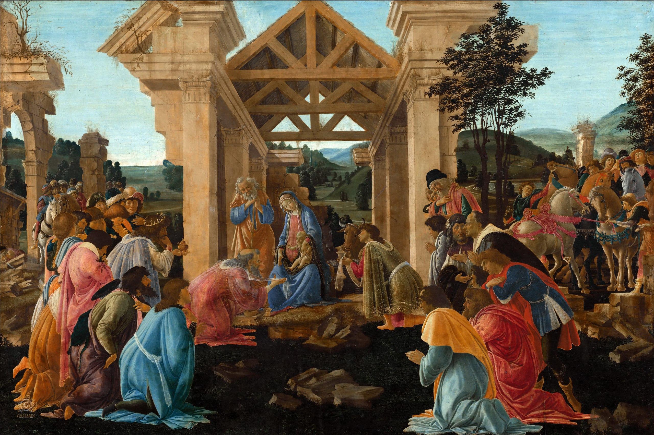 Сандро Боттичелли (1445-1510). Часть 1