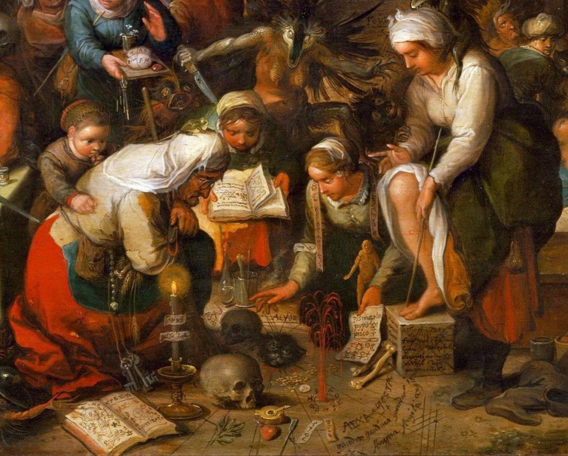 Арон Гуревич. Ведьмы в Средние века