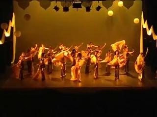 Club Magica - Flores Rosae - Ventaglio Velo - Danza del ventre 7697