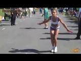 Самые быстрые прыжки на скакалке #Книга Рекордов Гиннеса #The fastest jumps on a jump rope