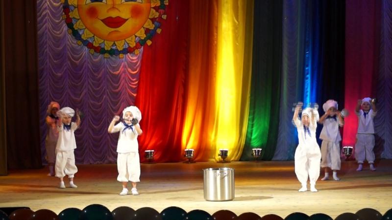 Танец Варись кашка Северное солнышко2017