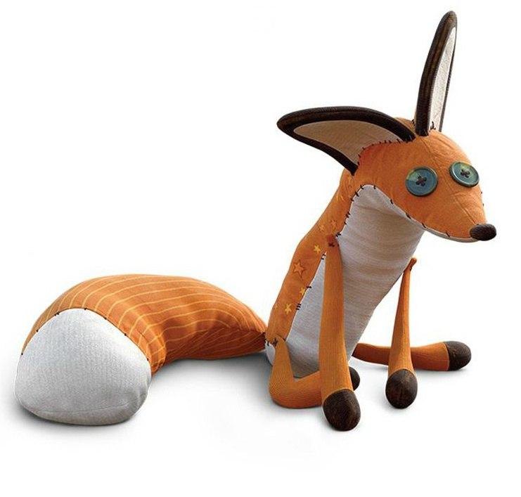 Прикольная игрушка - похожа на мем Упоротый лис