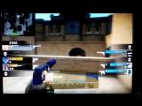 ace on pistol round. 1vs2 last kill in 2 second left