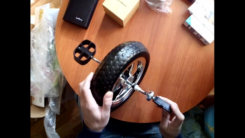 обзор велосипеда коляски cyti
