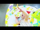 Коврик для игр и упражнений, который растет вместе с ребенком GYMOTION ACTIVITY PLAYLAND Imaginarium