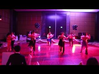 The Ritz Carlton Almaty Happy new year 2017 Банкетный отдел Танго
