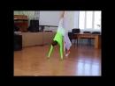 Гимнастический танец в школе - Евгения