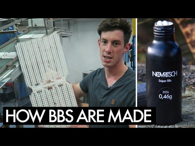 How its made AIRSOFT BBS - Novritsch Sniper BBs unveiled