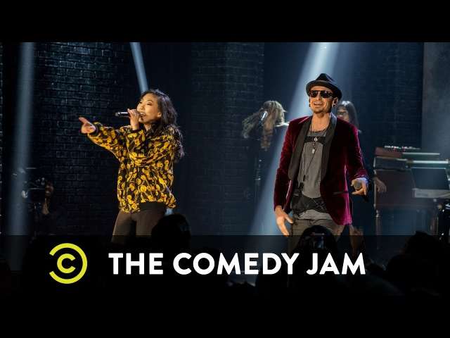 The Comedy Jam Awkwafina and Chester Bennington In The End