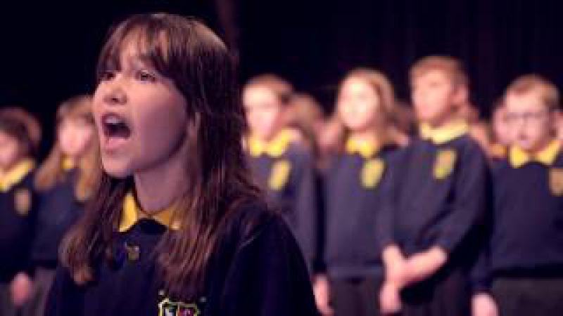 Irish Schoolgirl Kaylee Rodgers Singing Hallelujah - Official Video - Full HD